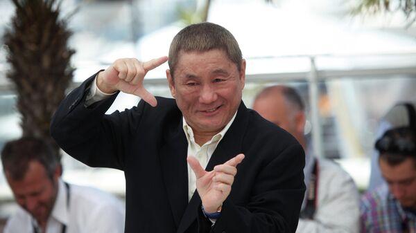 Японский режиссер и актер Такеши Китано