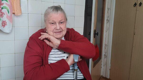 Пенсионерка Вера Павлова из поселка Приморский под Феодосией