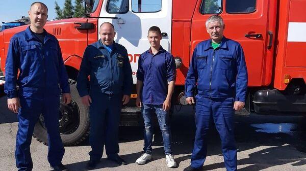 Александр Комплектов, спасший троих взрослых при пожаре в жилом доме