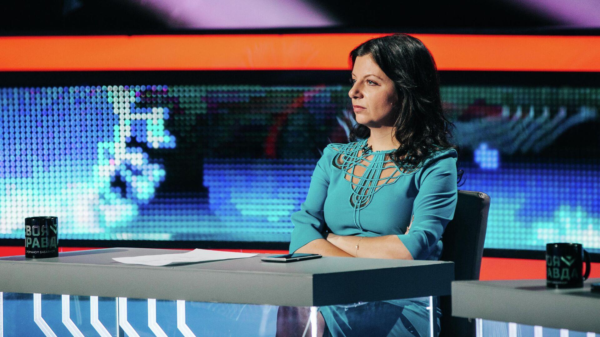 Главный редактор телеканала RT и МИА Россия сегодня Маргарита Симоньян - РИА Новости, 1920, 23.09.2021