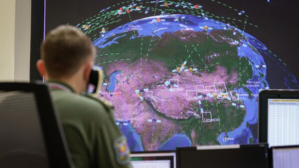 Госиспытания российской системы предупреждения о ракетном нападении в командном пункте СПРН в Солнечногорске