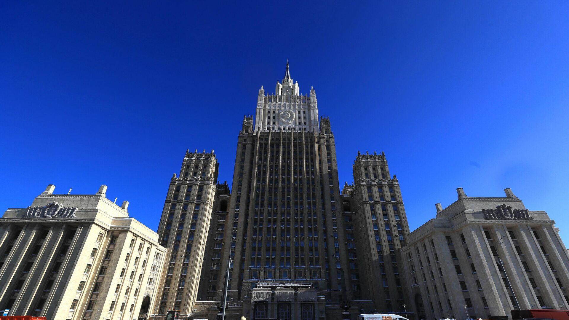 Здание Министерства иностранных дел РФ  - РИА Новости, 1920, 31.05.2021