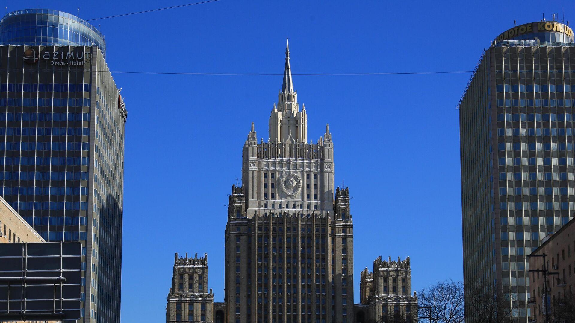 Здание Министерства иностранных дел РФ  - РИА Новости, 1920, 01.06.2021