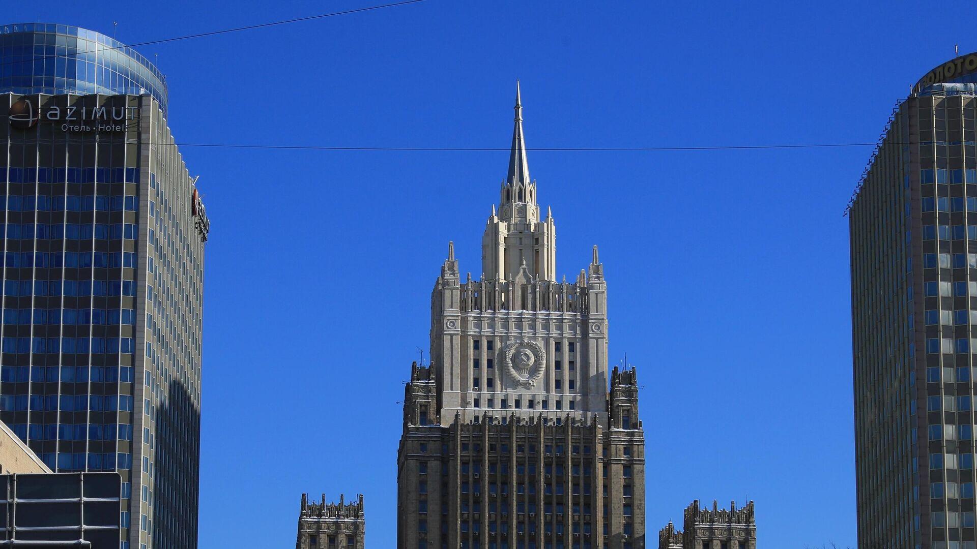 Здание Министерства иностранных дел РФ  - РИА Новости, 1920, 28.05.2021