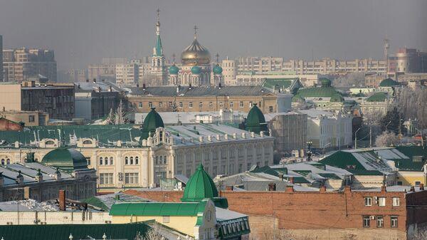 Вид на город Омск