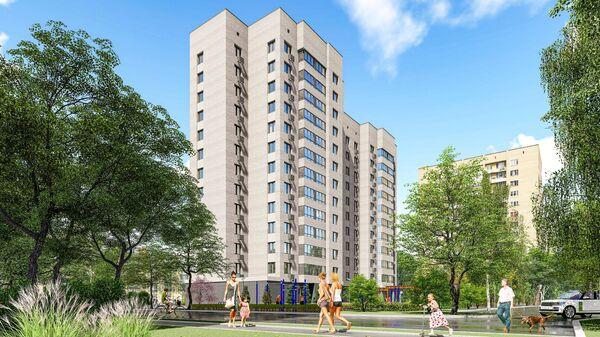 Проект дома реновации в московском районе Марфино по адресу: улица Академика Комарова, 11