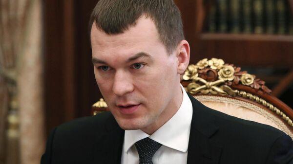 Временно исполняющий обязанности губернатора Хабаровского края Михаил Дегтярев