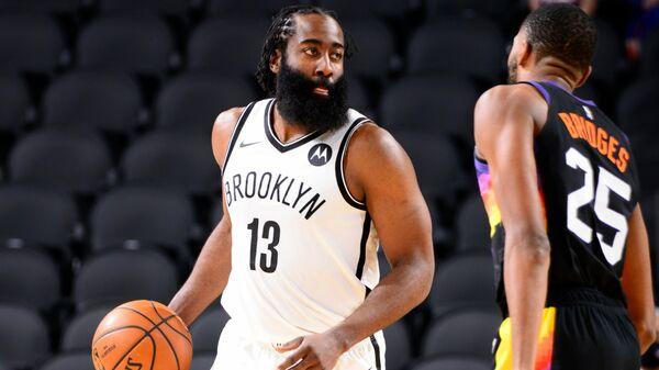 Баскетболист Бруклин Нетс Джеймс Харден