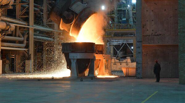 Работа металлурга