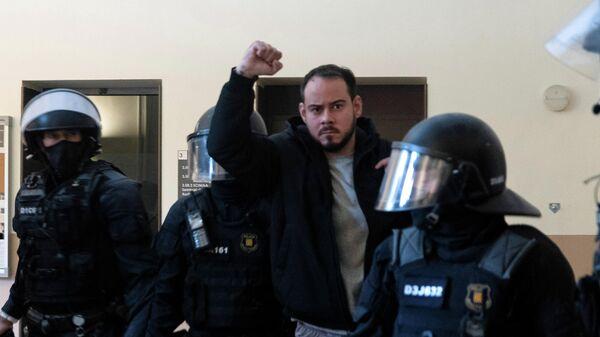 Задержанный испанский рэпер Пабло Асель