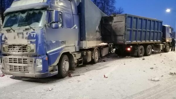 ДТП на трассе М-7 в Петушинском районе Владимирской области