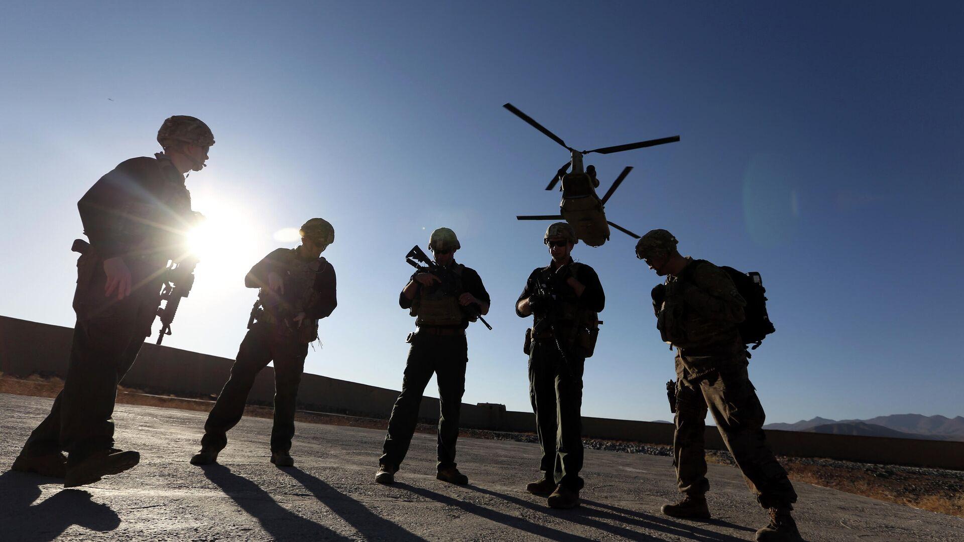 Американские солдаты в провинции Логар, Афганистан. - РИА Новости, 1920, 18.02.2021