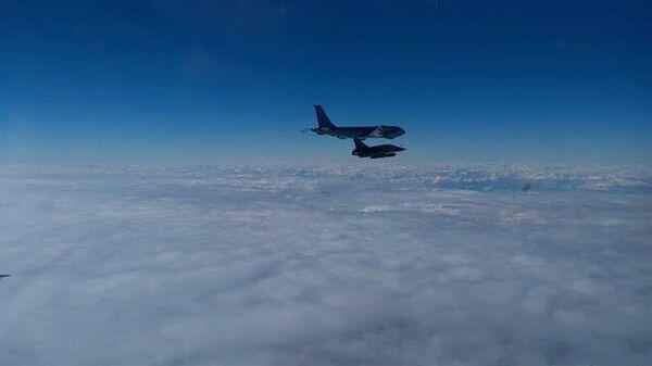Перехват французских самолетов над Черным морем