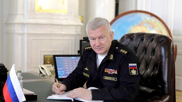 Главнокомандующий Военно-Морским Флотом России, адмирал Николай Евменов