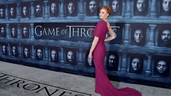 Софи Тернер на премьере 6 сезона Игры престолов в Голливуде