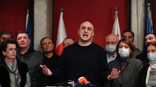 Грузинский юрист и политический деятель Никанор Мелия