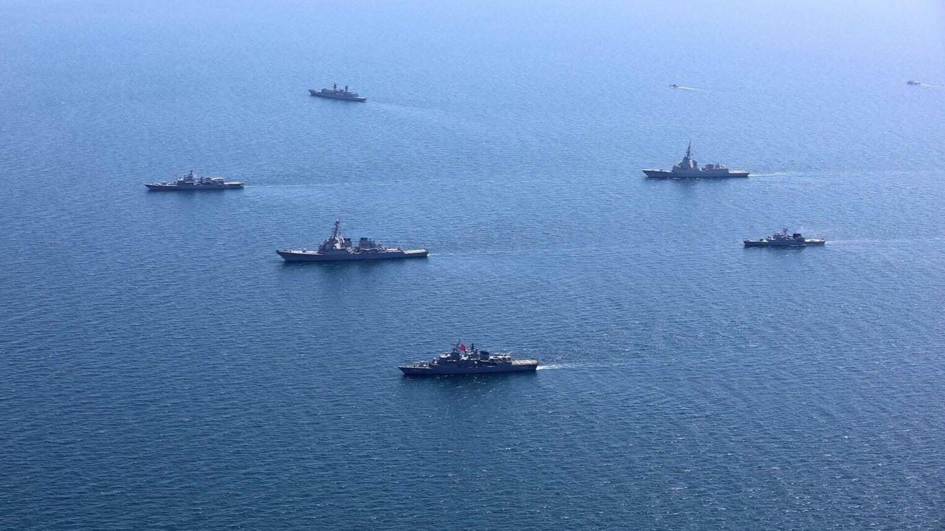 Учения стран НАТО и государств-партнеров Sea Breeze - 2020 в Черном море - РИА Новости, 1920, 07.07.2021