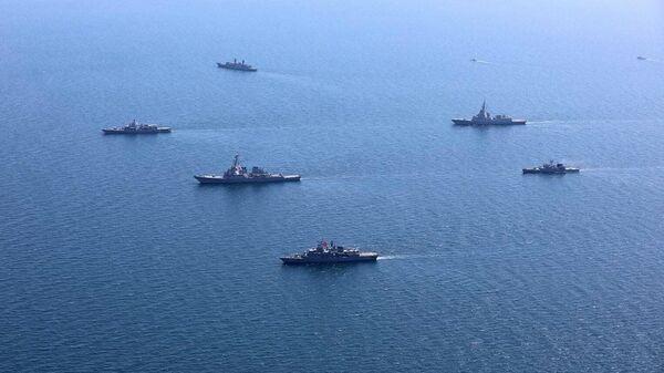 Учения стран НАТО и государств-партнеров Sea Breeze - 2020 в Черном море