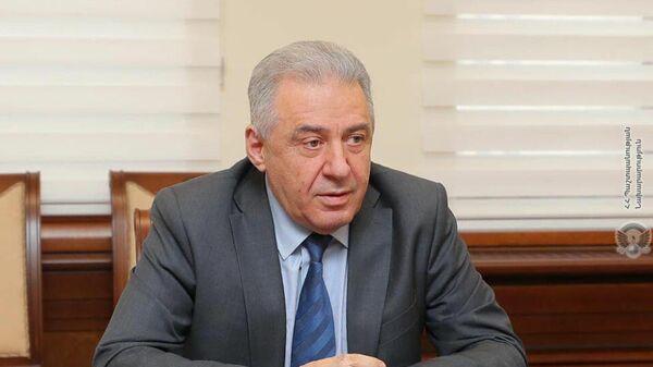 Министр обороны Республики Армения Вагаршак Арутюнян