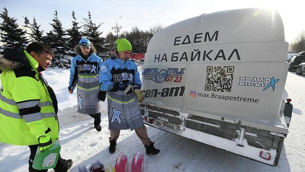 Участники гранд-тура Байкальская миля
