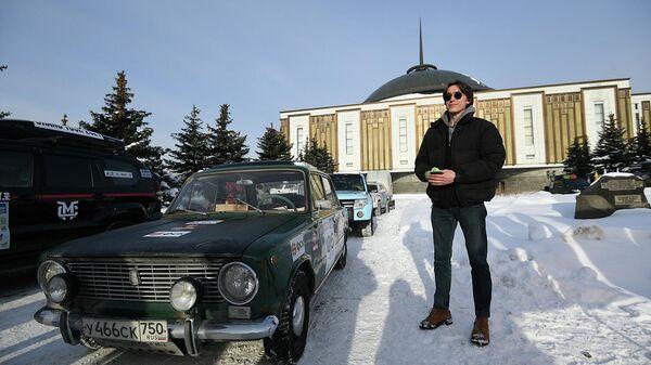 Участник гранд-тура Байкальская миля