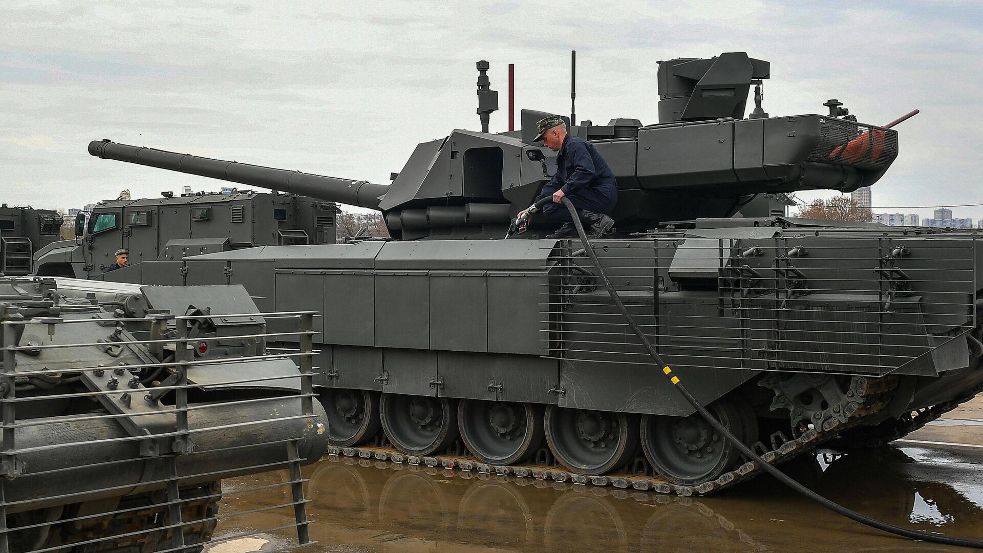 Источник рассказал о новом покрытии российских боевых машин
