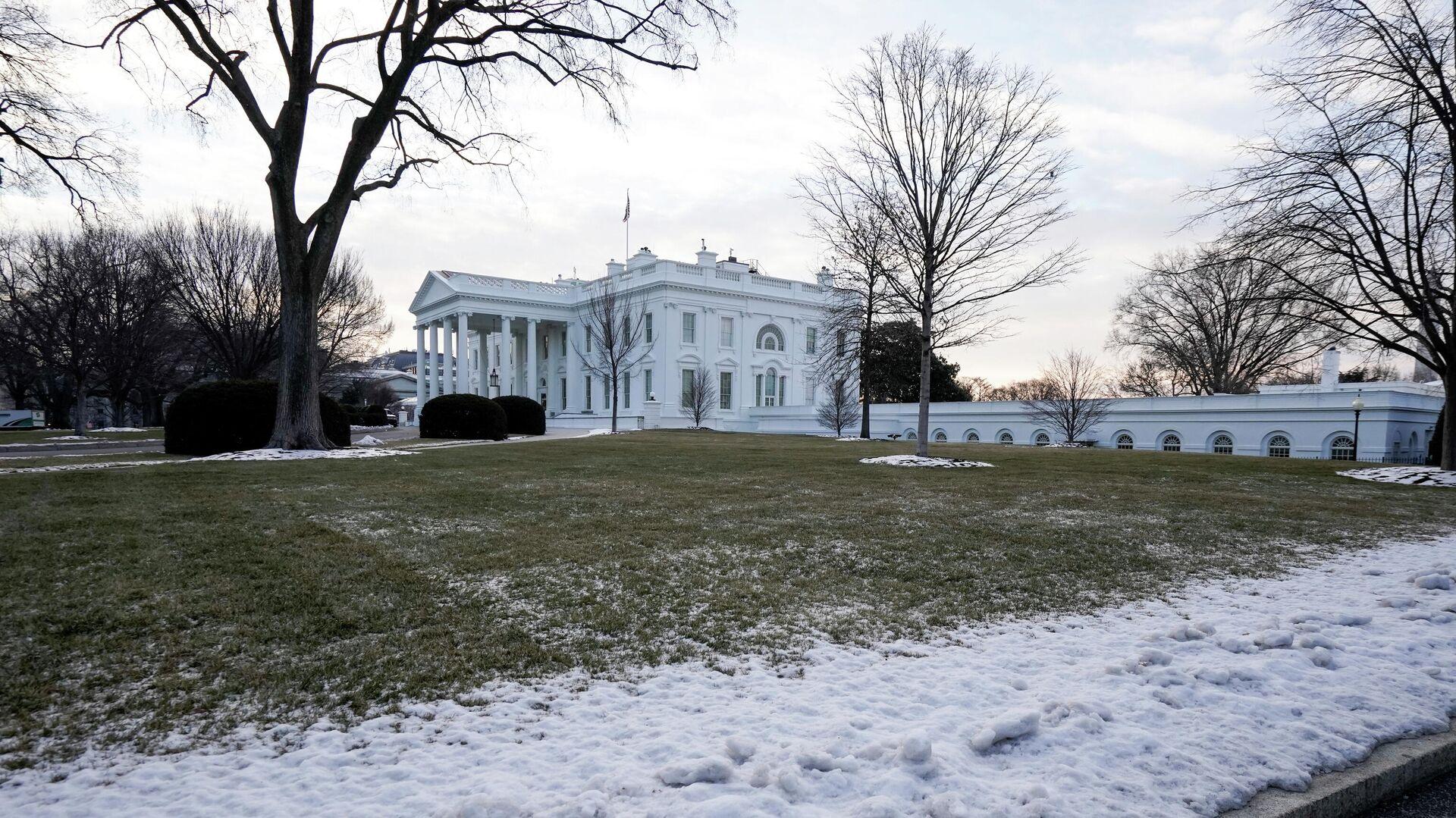 Здание Белого дома в Вашингтоне, США - РИА Новости, 1920, 21.02.2021
