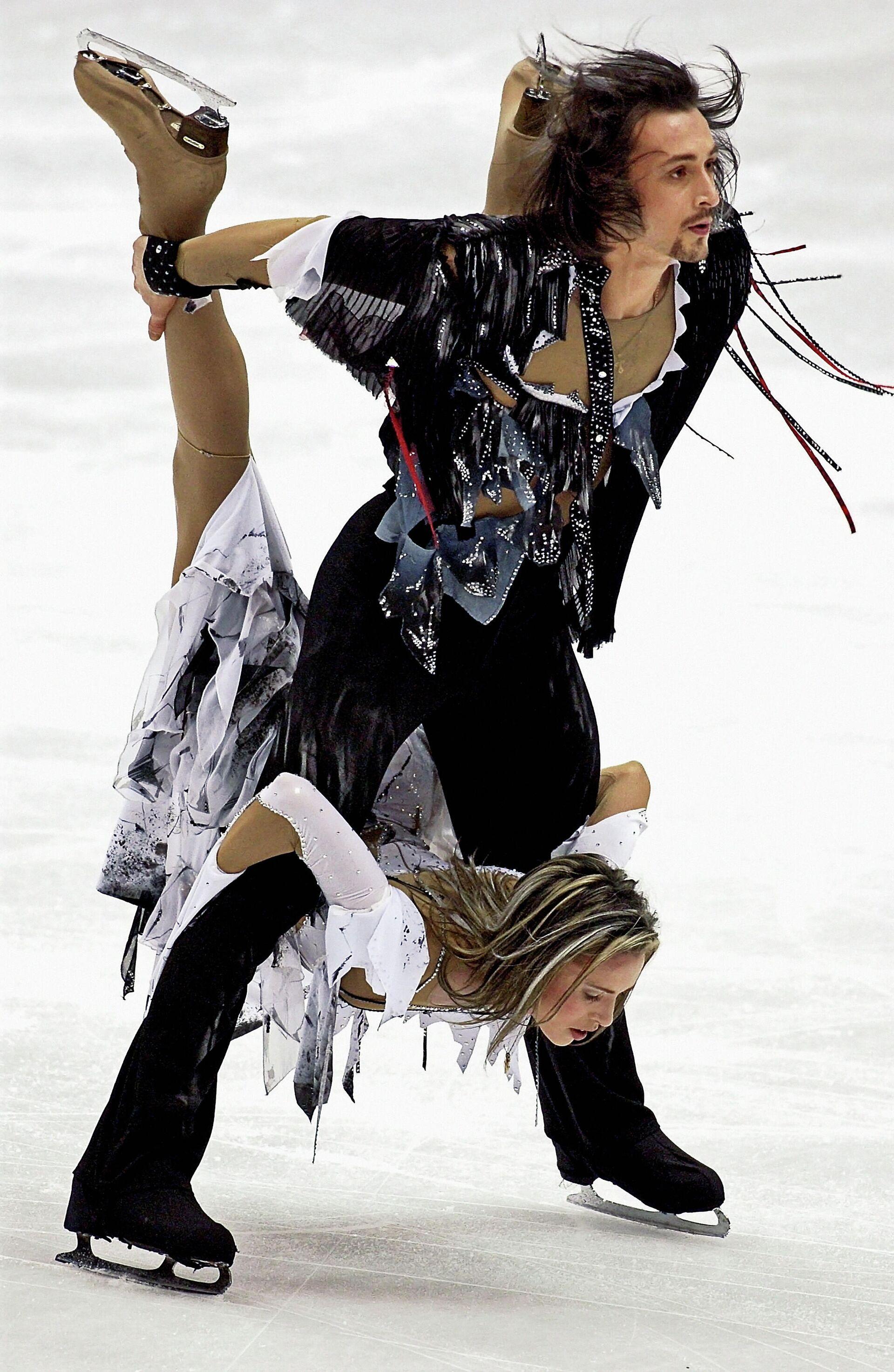 Ирина Лобачева и Илья Авербух на Олимпийских играх 2002 года - РИА Новости, 1920, 13.10.2021