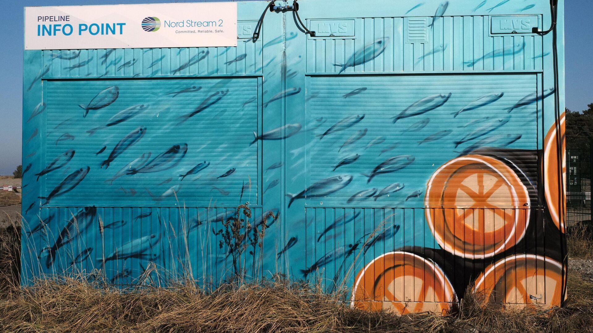 Береговые объекты газопровода Северный поток - 2 в городе Любмин в Германии - РИА Новости, 1920, 29.07.2021