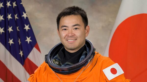 Японский космонавт Акихико Хошидэ