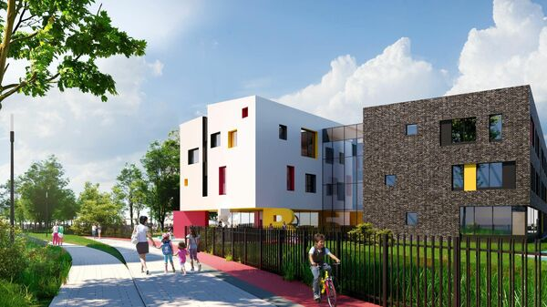 Проект детского сада в квартале Символ