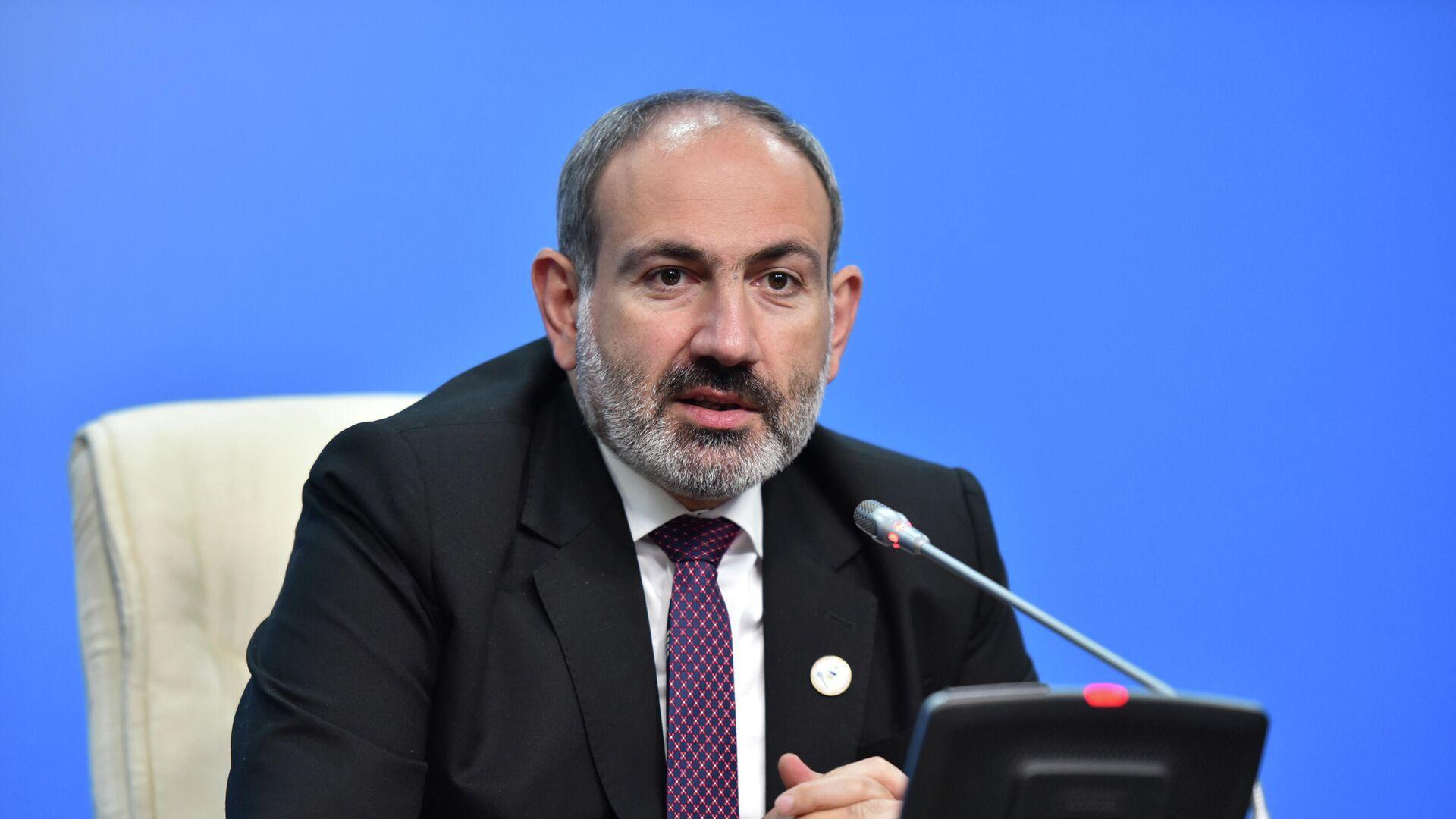 Премьер-министр Армении Никол Пашинян - РИА Новости, 1920, 14.10.2021