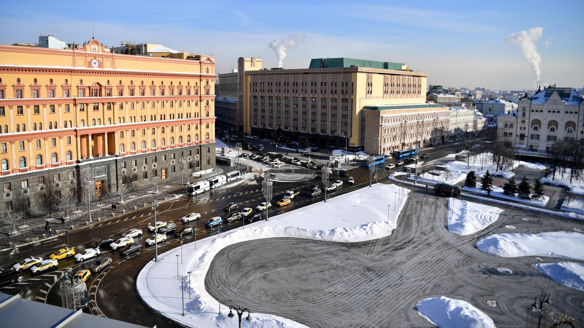 Здание Федеральной службы безопасности на Лубянской площади в Москве - РИА Новости, 1920, 27.02.2021