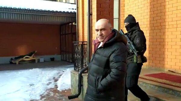 Задержание Ахмеда Погорова