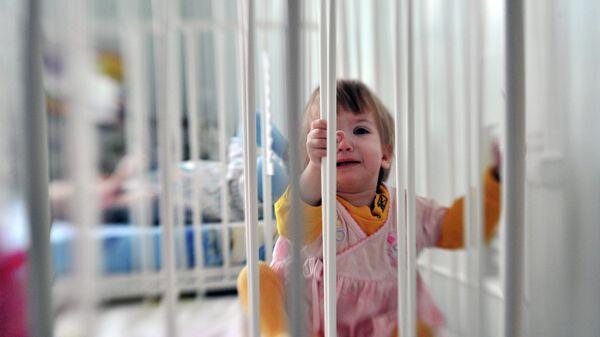 Пациент городской детской больницы