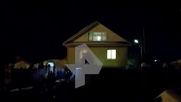 Видео с места убийства семьи в Нижегородской области