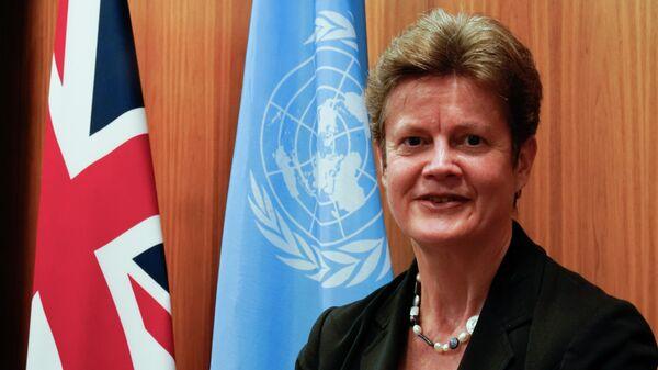 Постоянный представитель Великобритании при ООН Барбара Вудворд