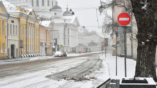Улица Солженицына в Москве