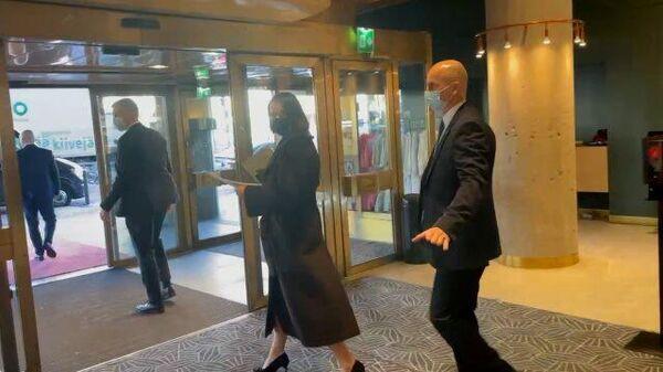 Кадры отеля President в Хельсинки, где остановилась Тихановская