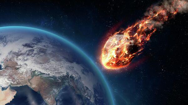 Метеор у поверхности Земли