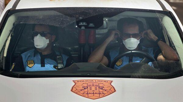 Испанские полицейские на Тенерифе, Канарские острова