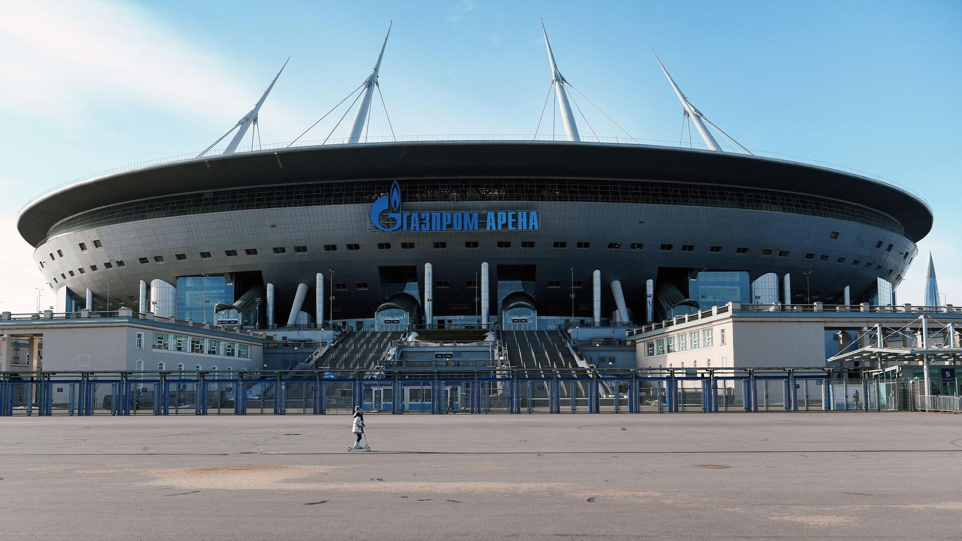 Стадион Газпром-Арена в Санкт-Петербурге - РИА Новости, 1920, 03.08.2021