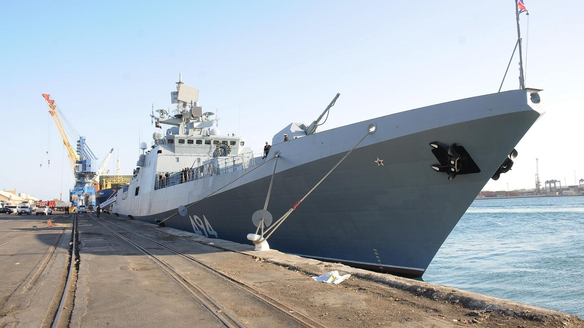 Мишустин подписал распоряжение о развитии морского порта Приморск