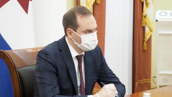 Временно исполняющий обязанности Главы Мордовии Артем Здунов