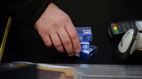 Продажа сигарет