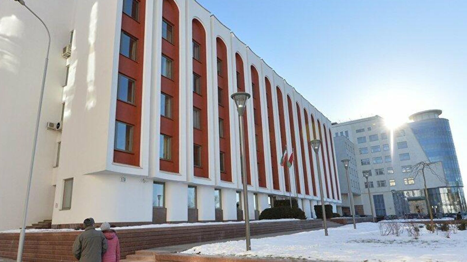 Здание Министерства иностранных дел Белоруссии - РИА Новости, 1920, 22.06.2021