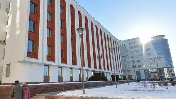 Здание Министерства иностранных дел Белоруссии