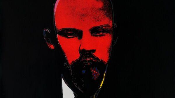 Выставка образов Ленина в галерее ART4.  Энди Уорхол. Черный Ленин.