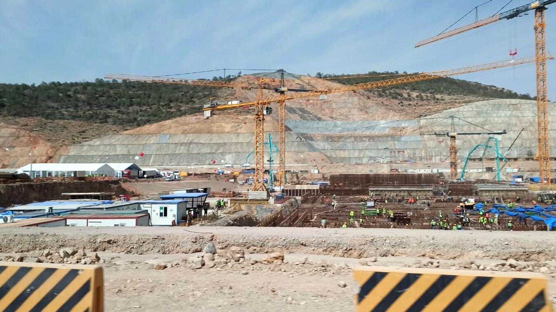 Начало строительства третьего блока АЭС Аккую в Турции - РИА Новости, 1920, 17.09.2021