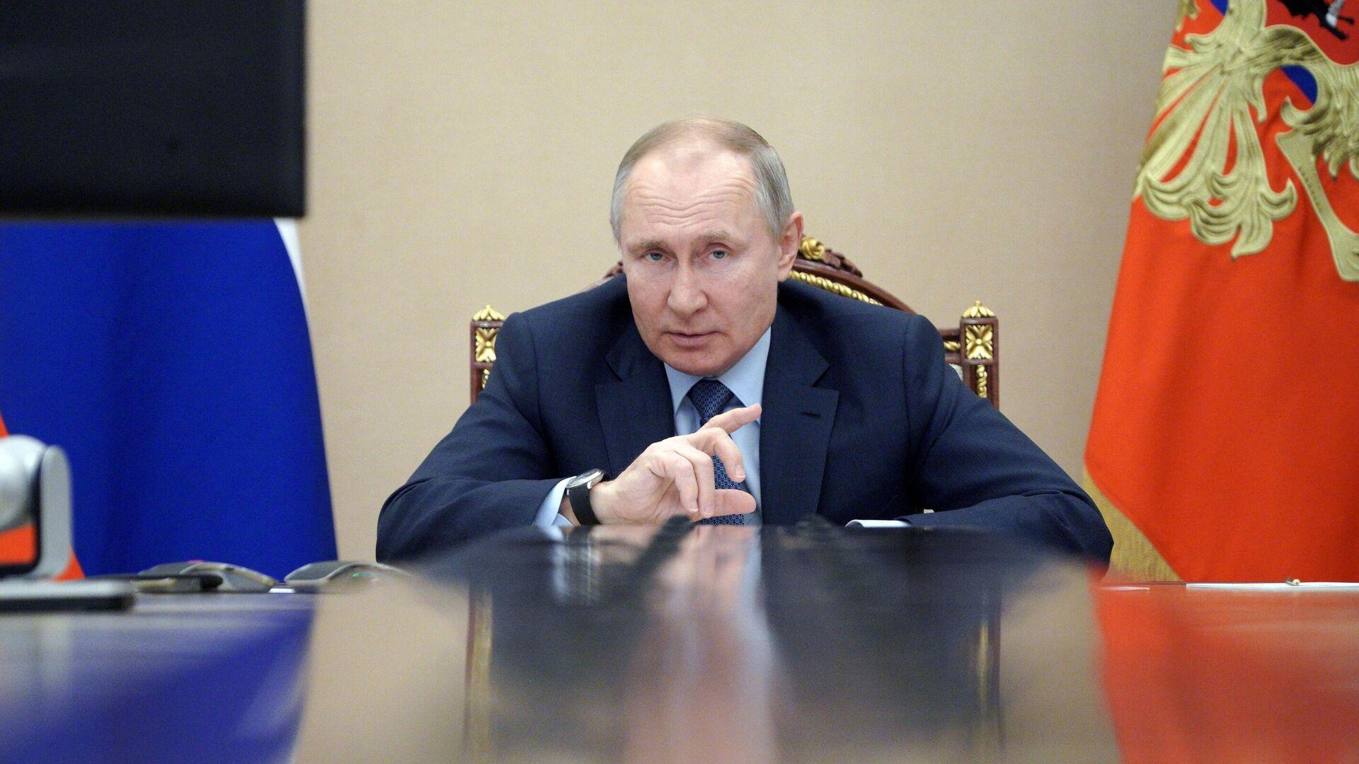 Президент РФ Владимир Путин - РИА Новости, 1920, 10.03.2021